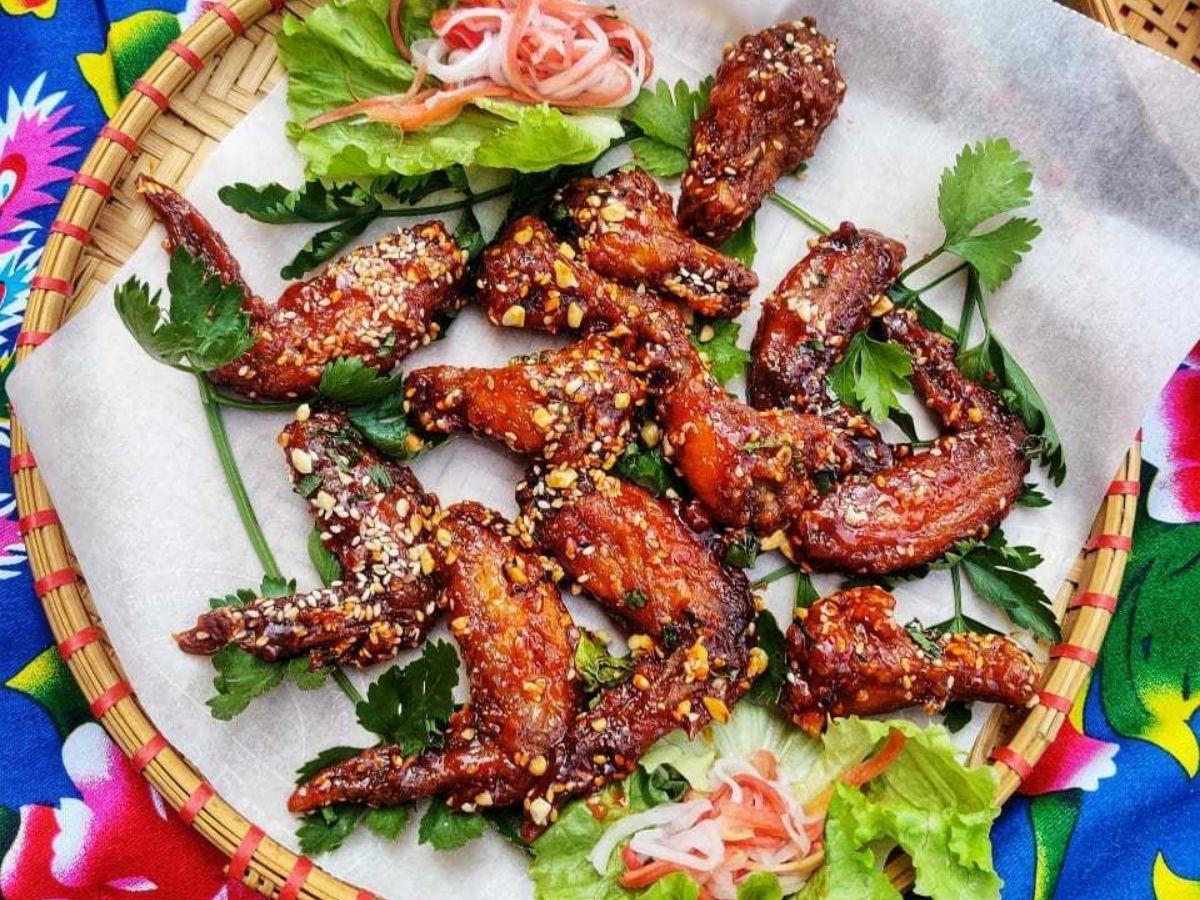 Tamarind Glazed Chicken Wings