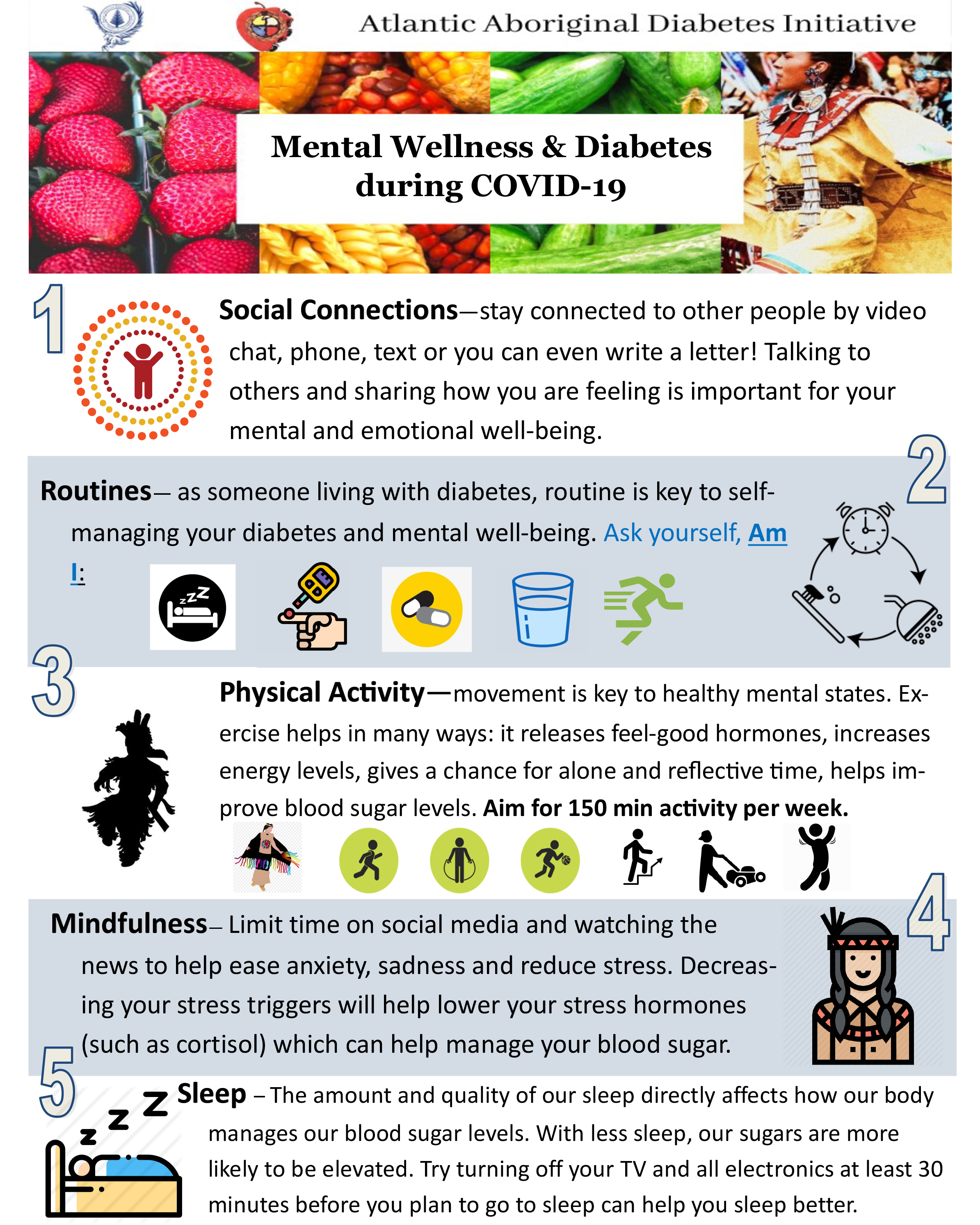 Mental Wellness & Diabetes during Covid-19