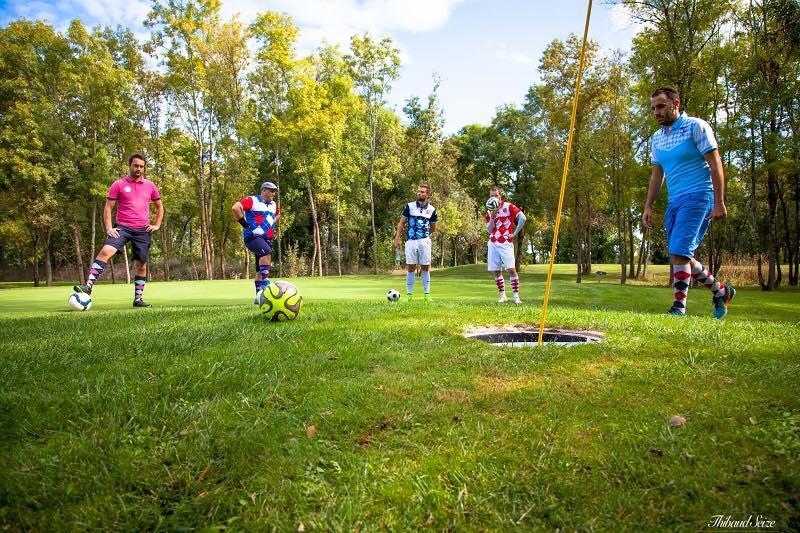 Team building Bordeaux footgolf