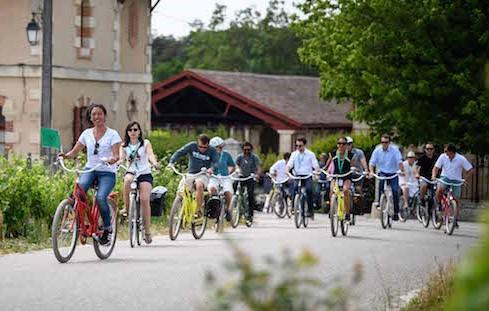 Team building Bordeaux vélos