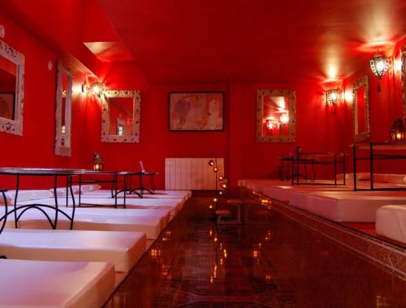 EVJF Paris hammam sauna Bains d'orient