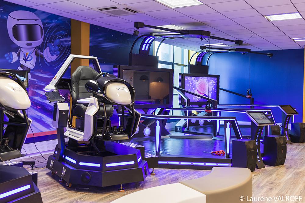 Virtuality Planet anniversaire enfants paris