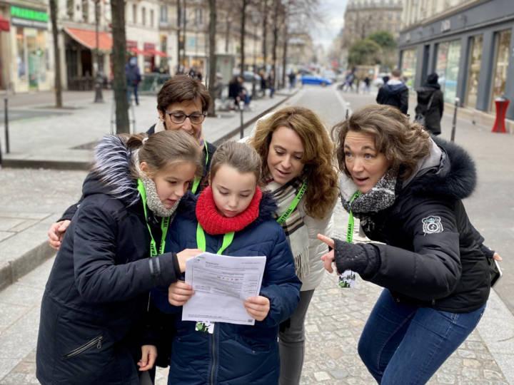Foxtrail Paris anniversaire enfants