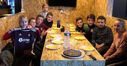 Anniversaire enfant Soccer Park Bordeaux