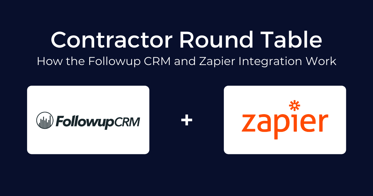 How the Followup CRM and Zapier Integration Work