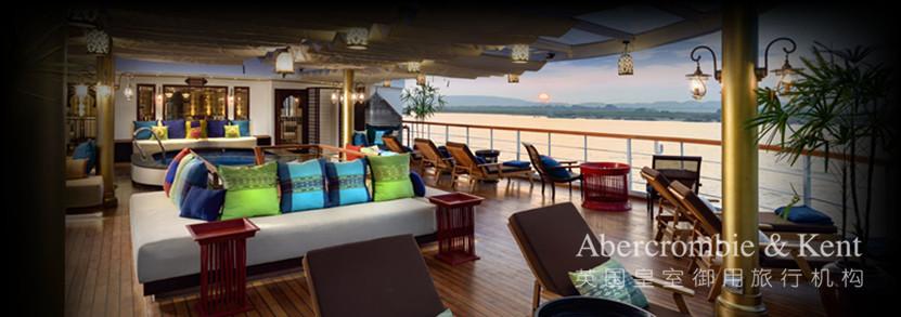 "A&K在伊洛瓦底江上拥有专属奢华邮轮""阿南达号"""