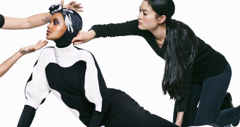 Topmodel Halima Aden: 'Ik ben niet bang om de eerste te zijn'