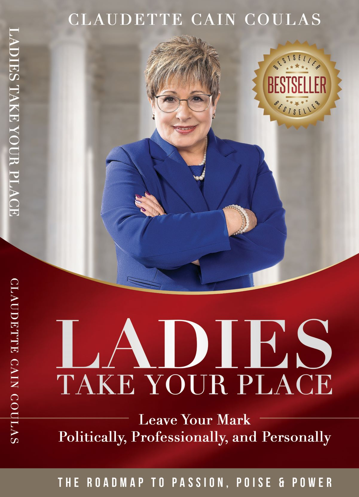 """Claudette Cain Coulas' New Book """"Ladies Take Your Place"""""""