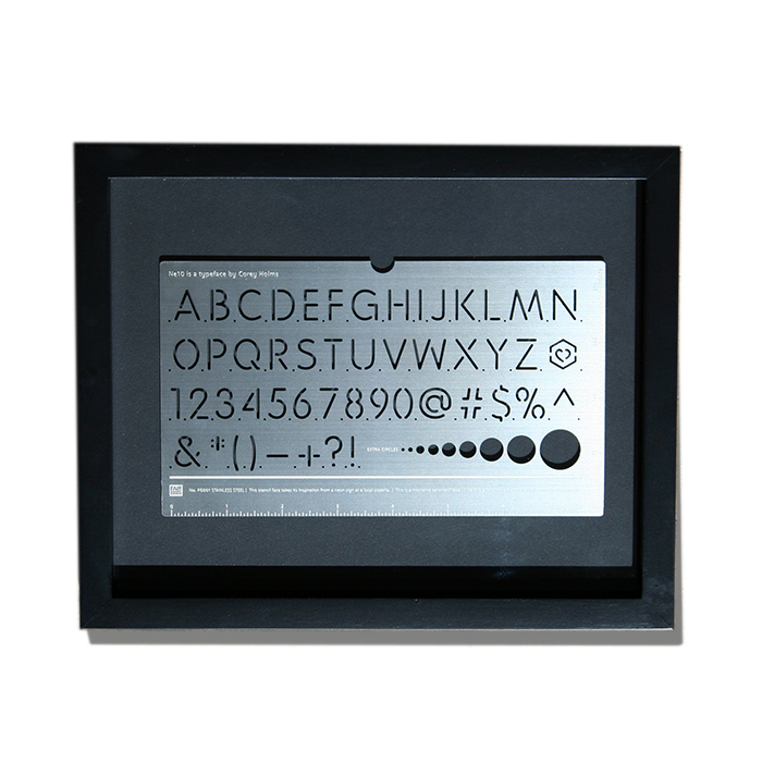 Typographic Stencils