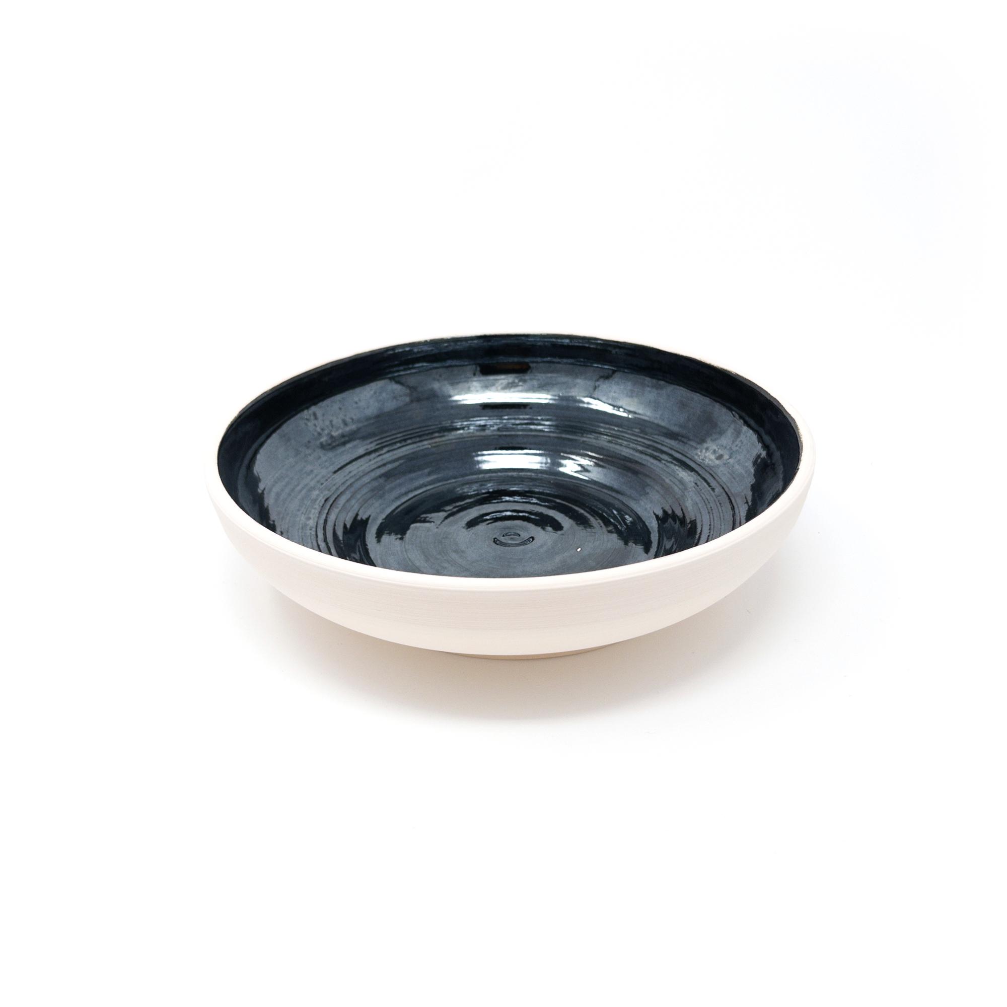 Metallic Black Bowl