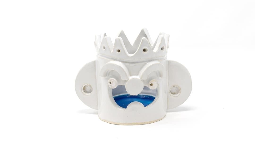Blue King Candle