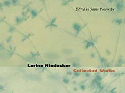 cover of a collection of Niedecker poems