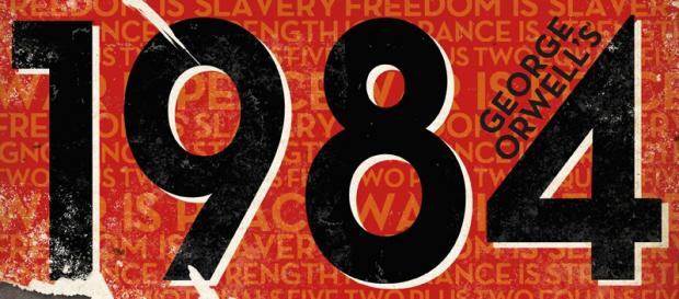 Cover the 1984 book by George Orwell