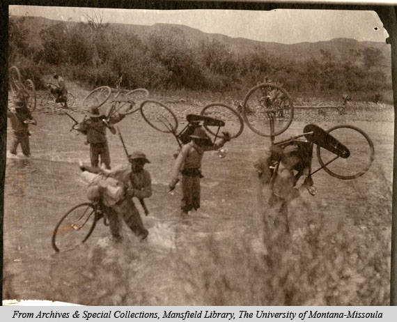 Bicycle Corps' in Wyoming