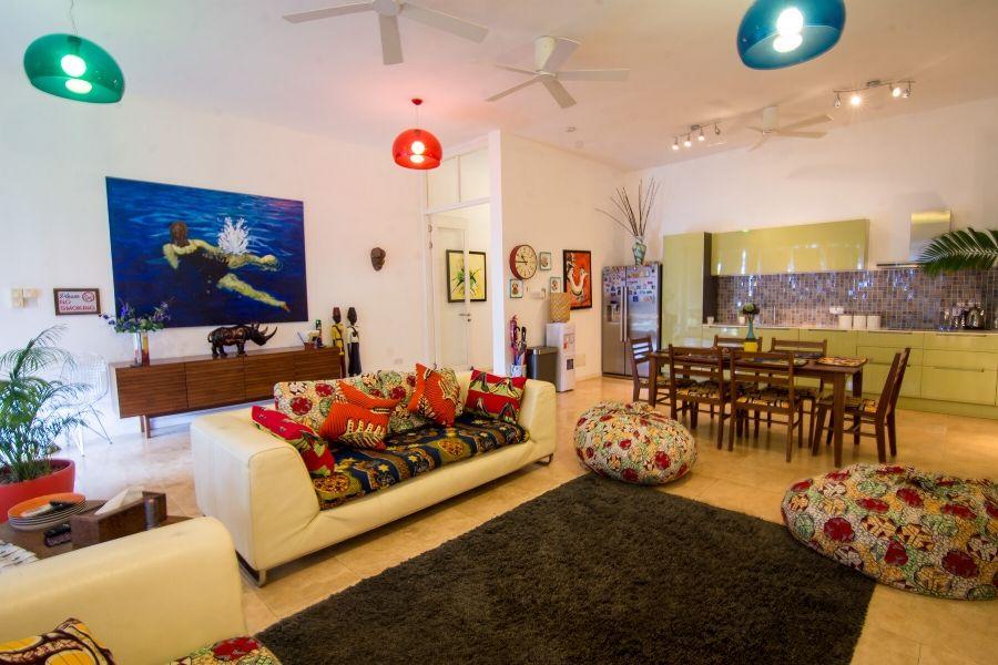 Zanzibar Private Pool Villa spacious living area
