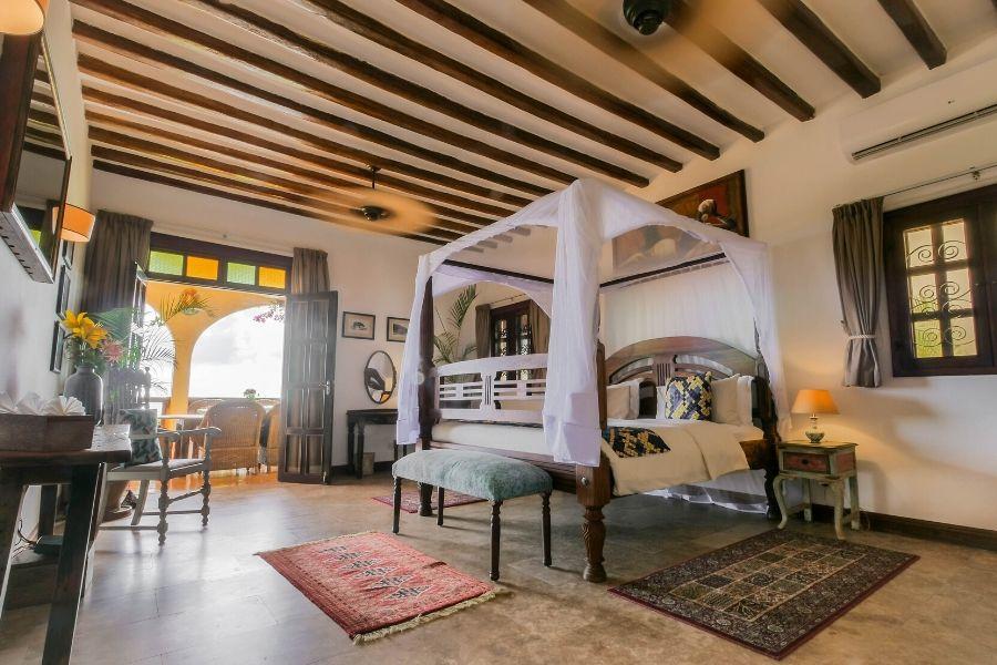 Zanzibar Private Pool Villa private elegant room with a view