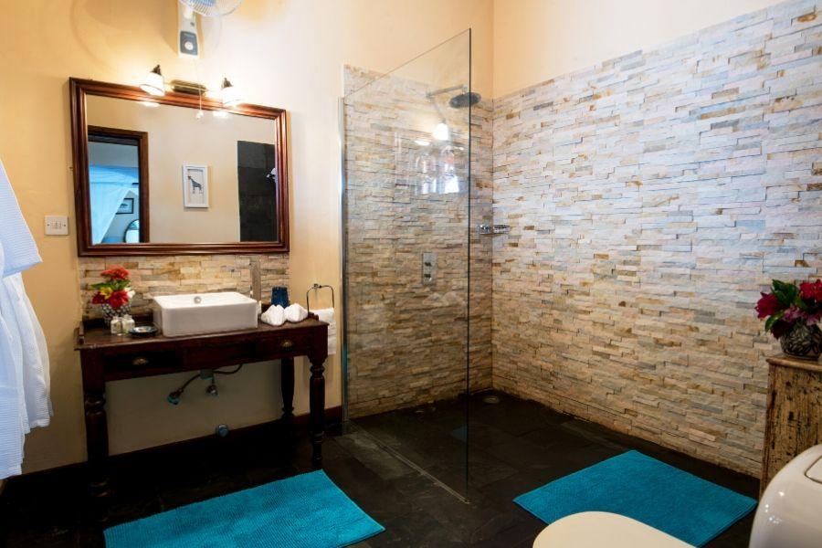 Zanzibar Private Pool Villa spacious elegant bathroom