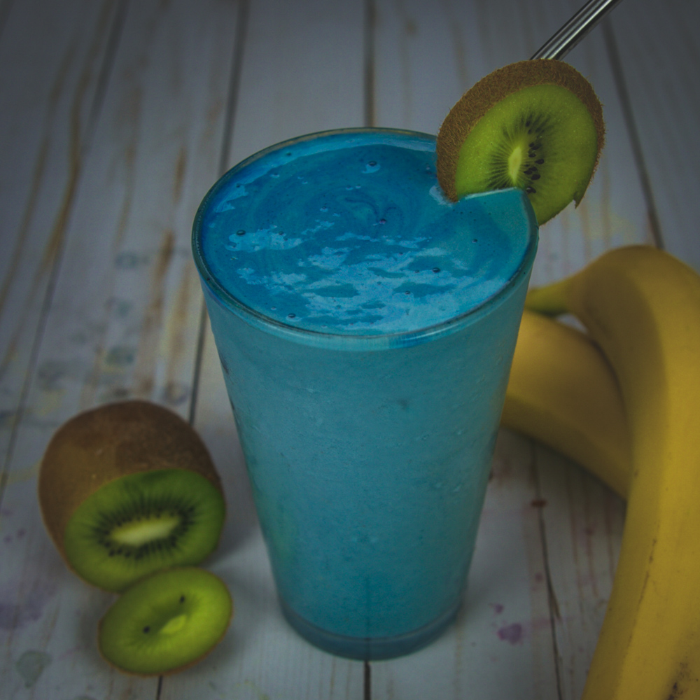 Fresh fruit blended into delicious smoothies.