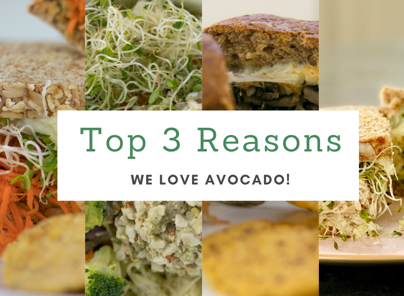 Top 3 reasons we love avocado