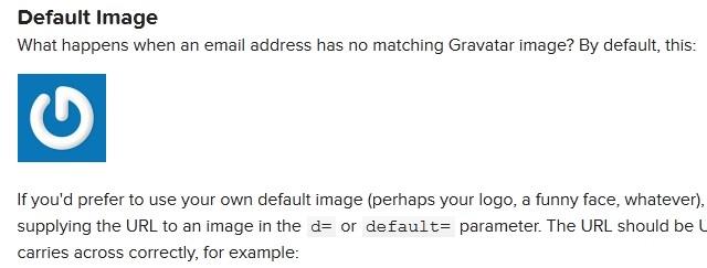 change default gravatar opencart