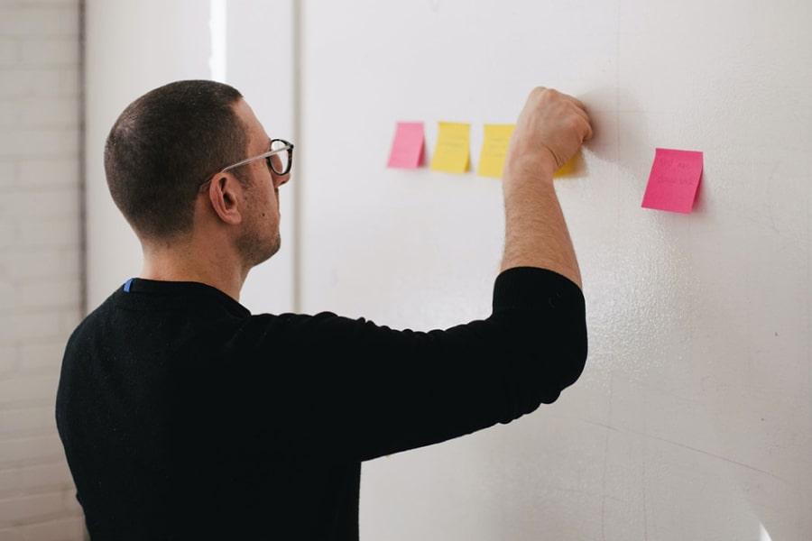 Man strategy planning
