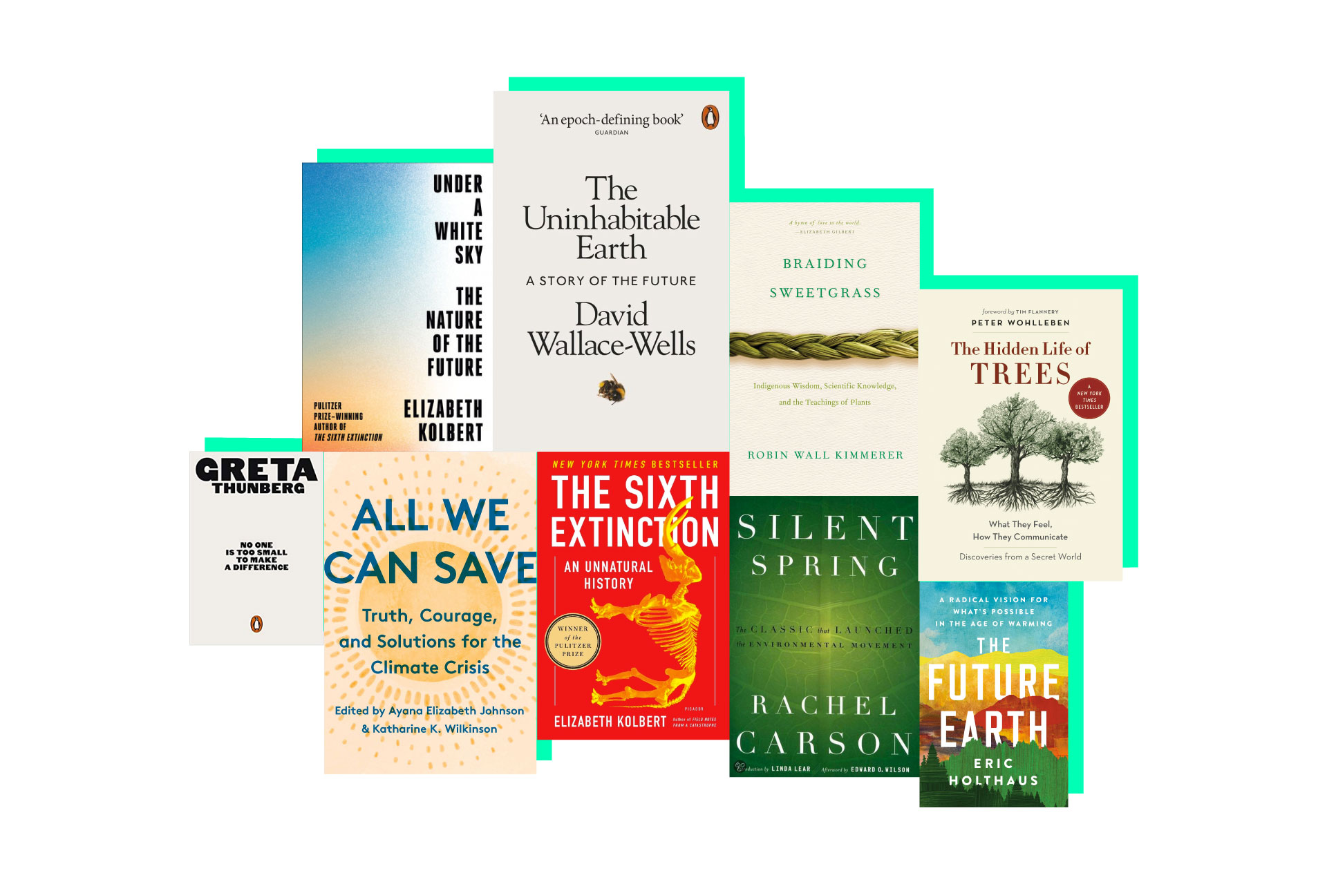 We started an environmental book club, join us!