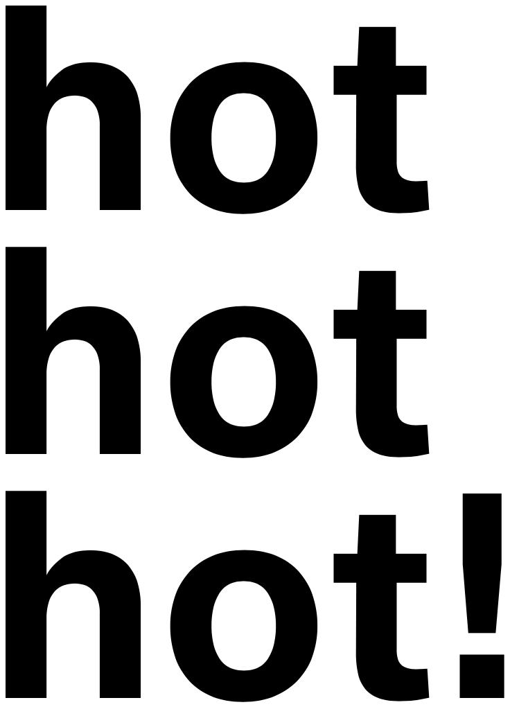 hothothot!