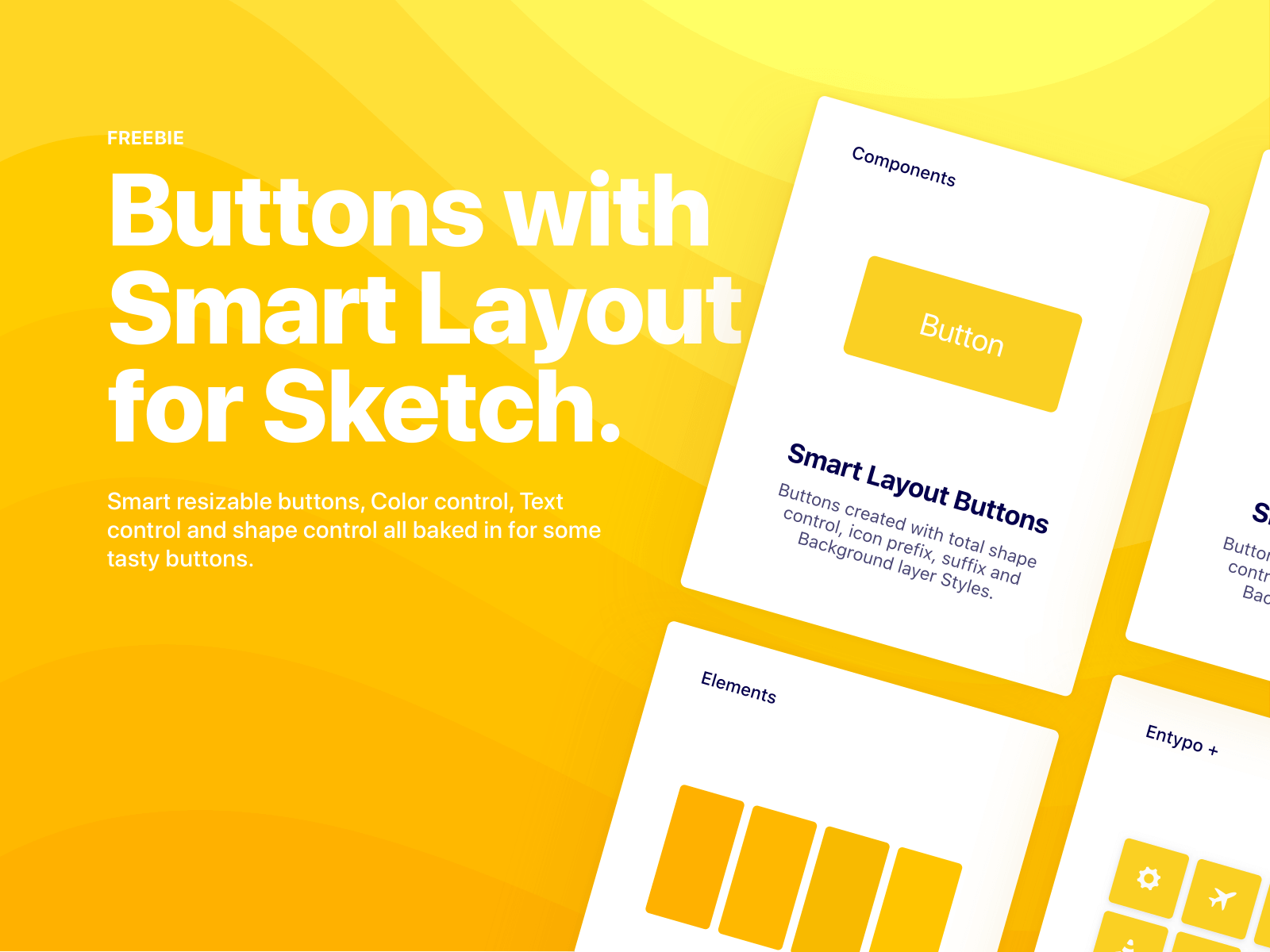 Smart button graphic for sketch thumbnail