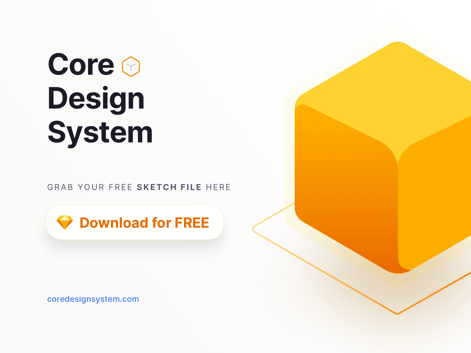 Core Design System thumbnail graphic