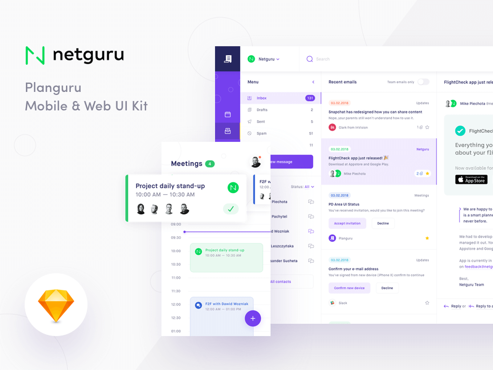 Dashboard style user interface kit