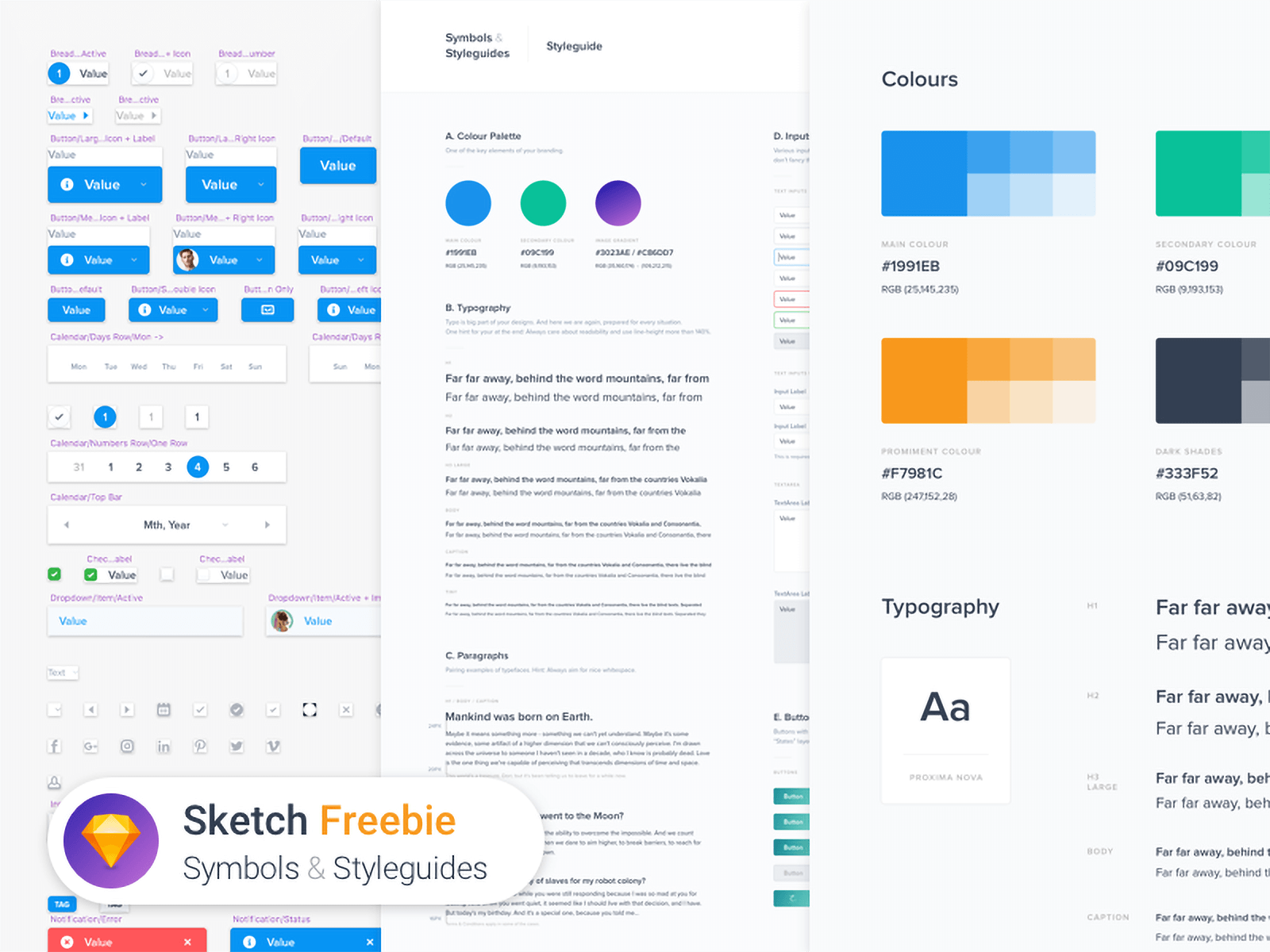 Web design style guide template