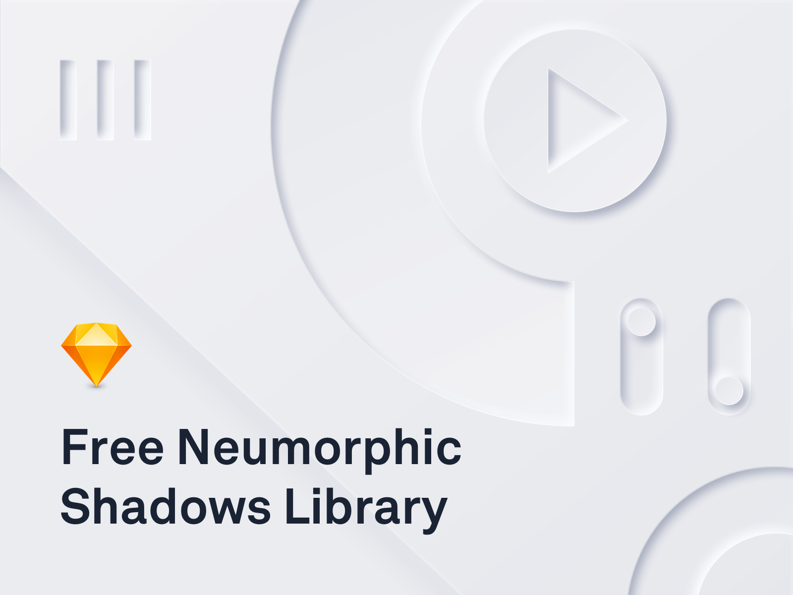 Neumorphic Shadows Library for sketch