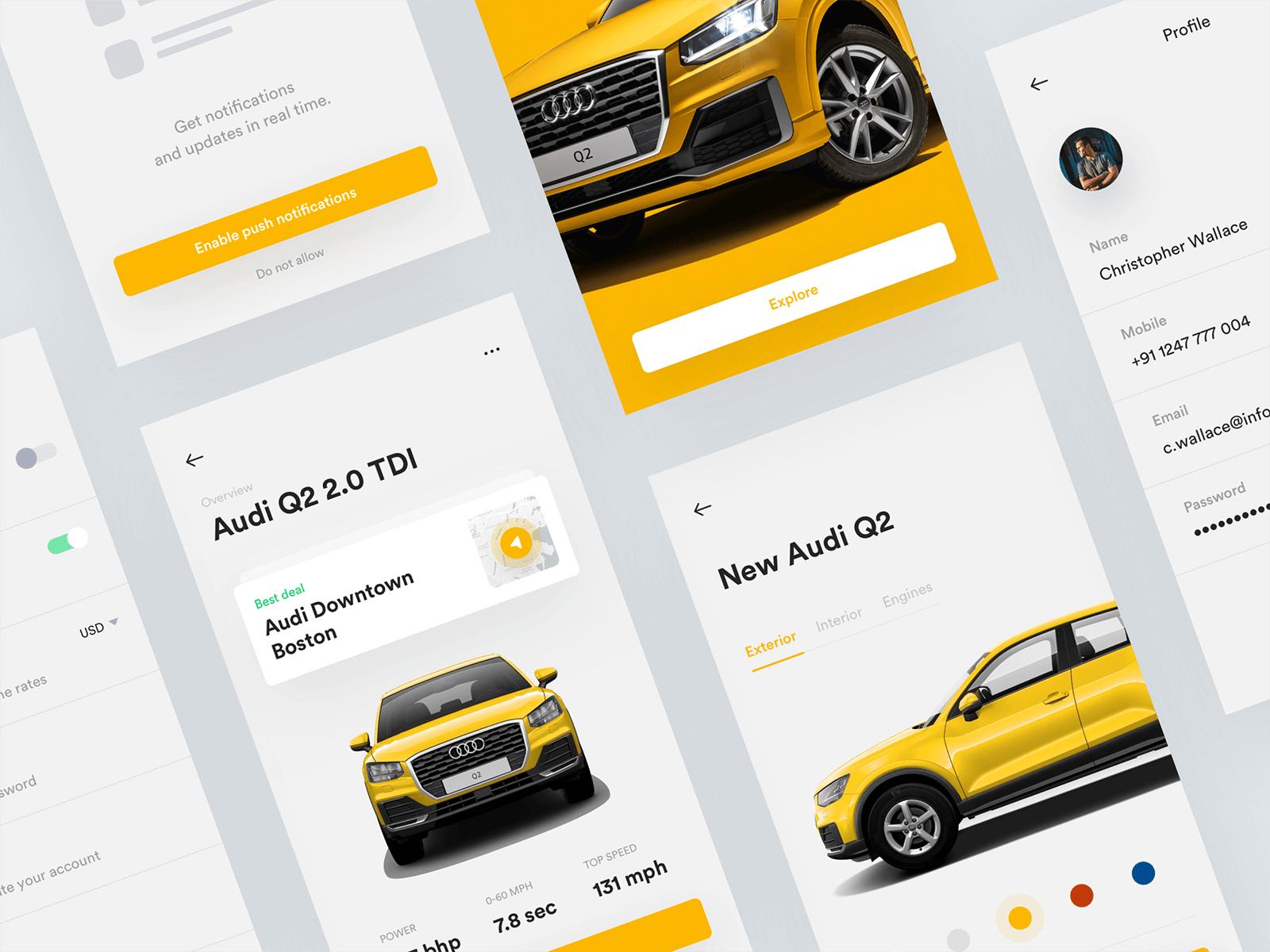 Audi Freebie