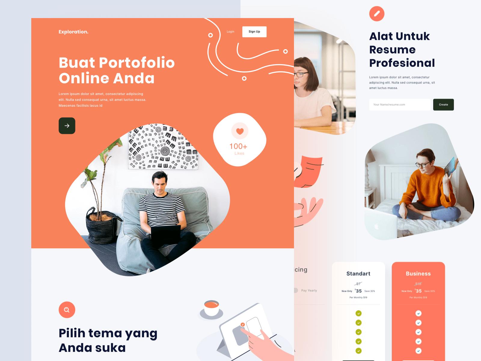 Creating Online Portfolio