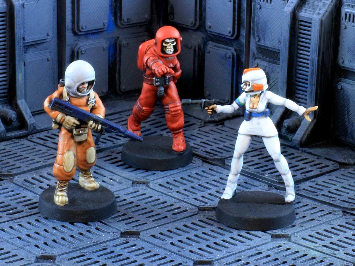 A set of figure agnostic sci-fi wargame rules.