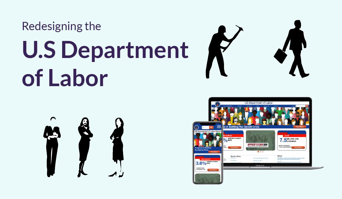 UI Design for government website
