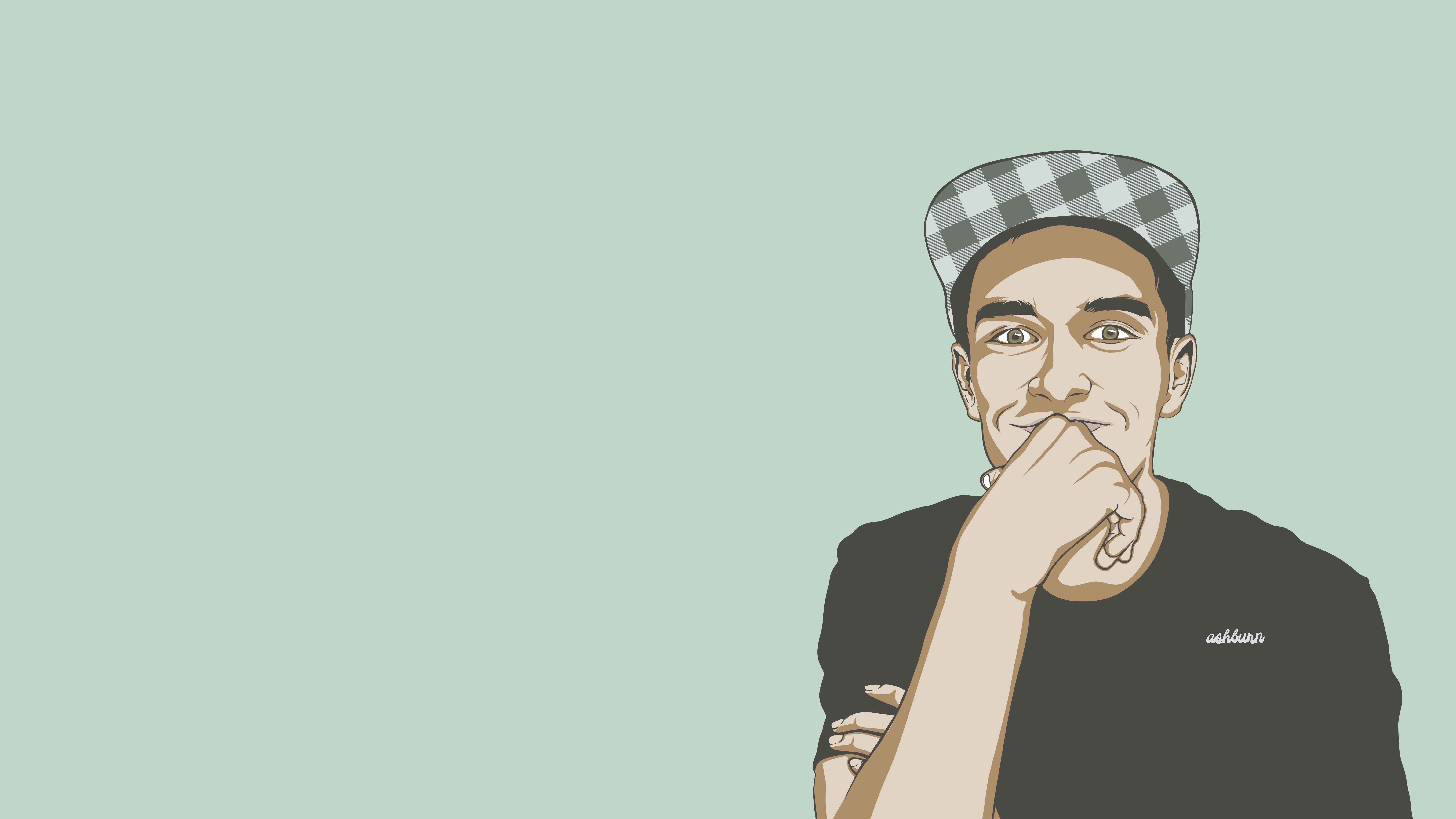 Ryan Ashburn Illustration Portrait