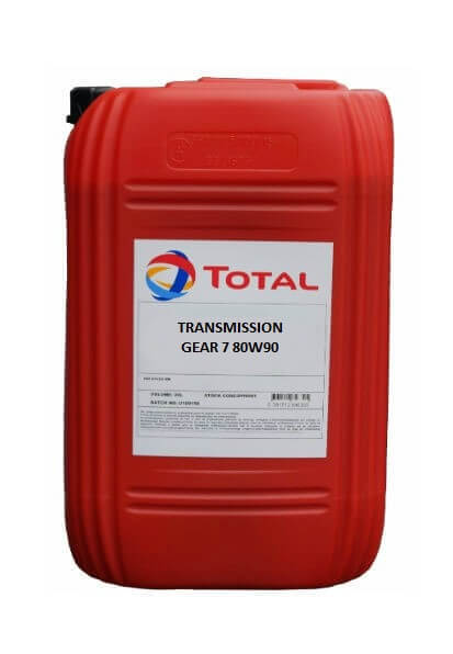 TOTAL TRANSMISSION GEAR 7 80W90