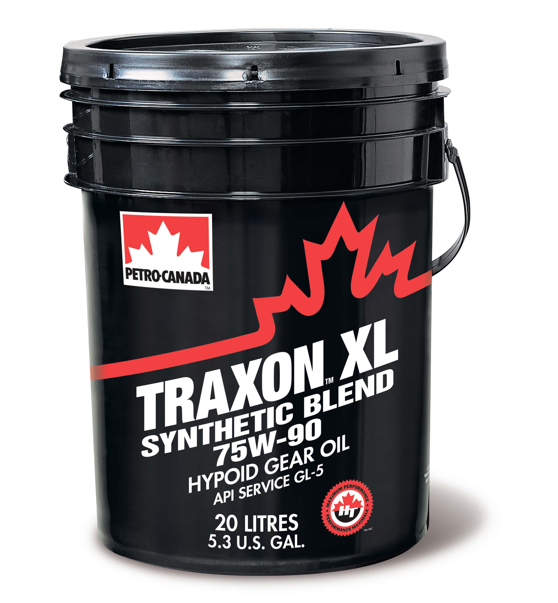Petro-Canada   Traxon XL Syn Blend 75W90