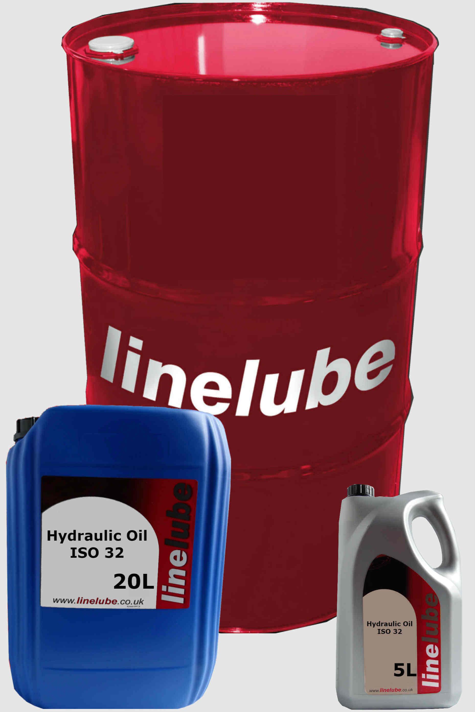 Linelube Hydraulic Oil ISO 32 | Online Lubricants | Fast