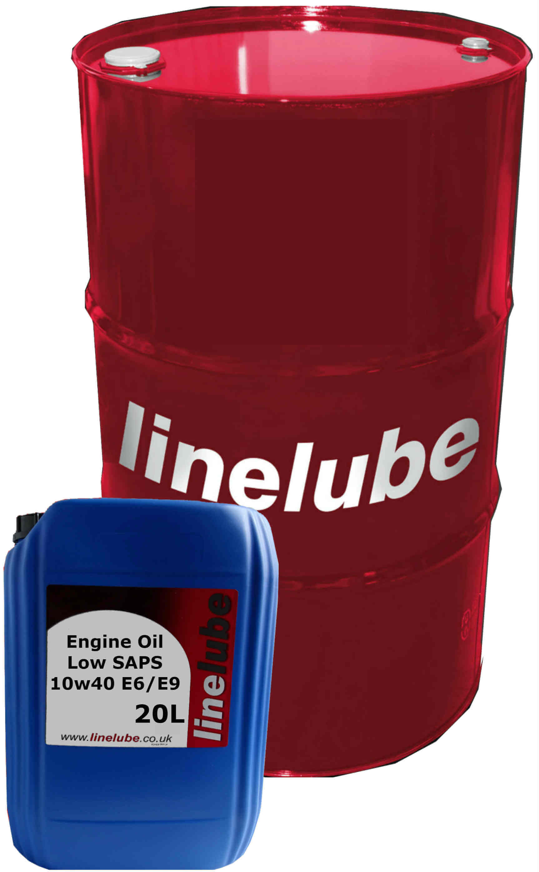 Linelube Engine Oil Low SAPS 10w40 E6/E9
