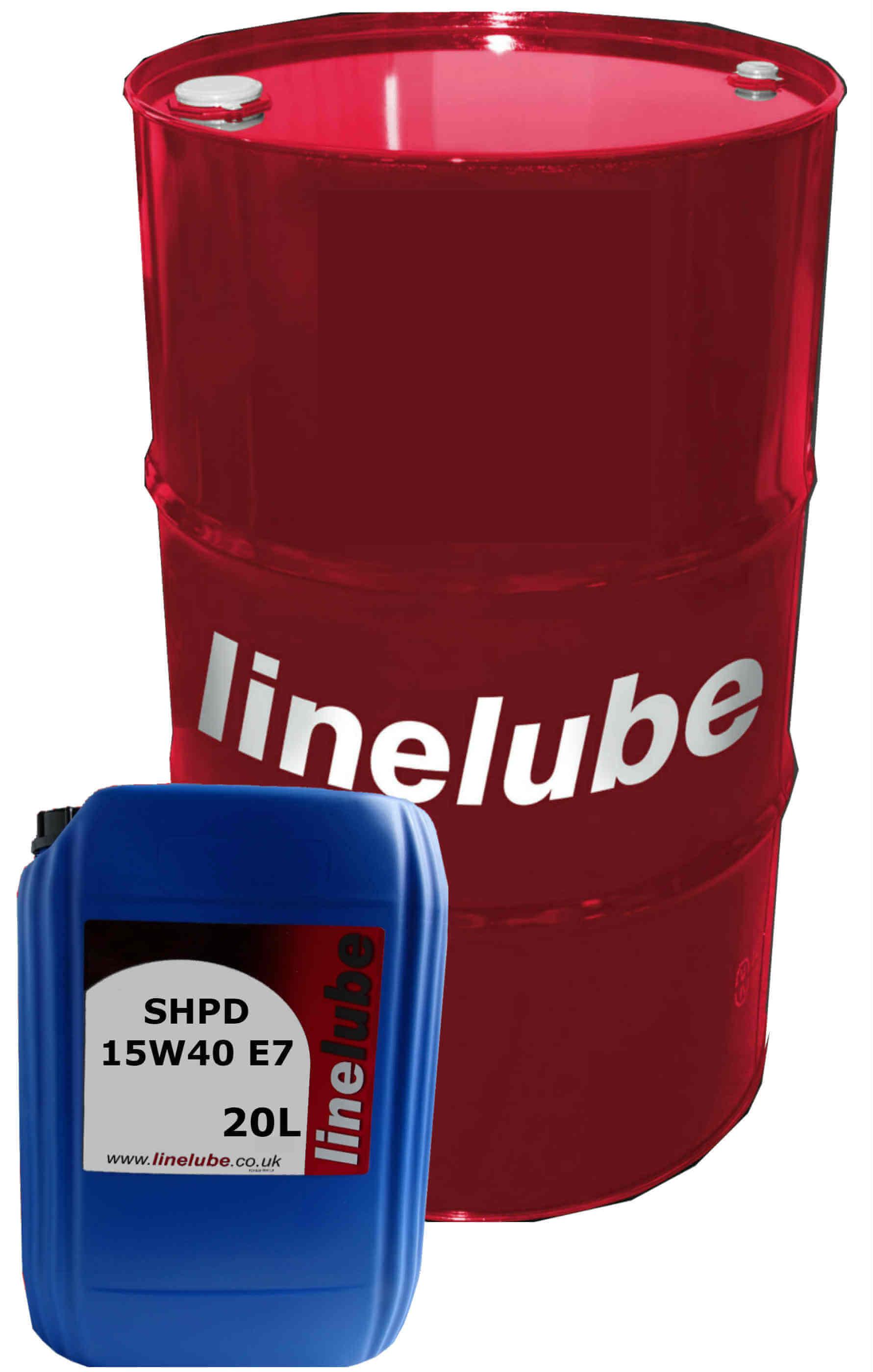 linelube SHPD 15W-40 E7