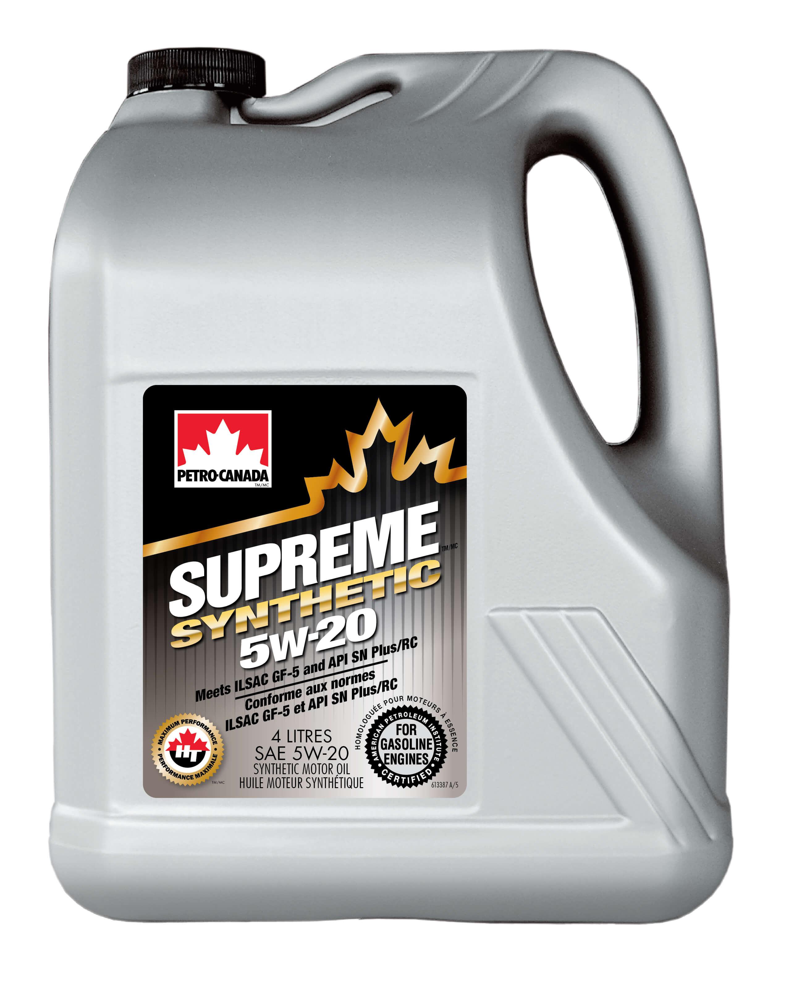 Petro-Canada   Supreme Syn 5W20