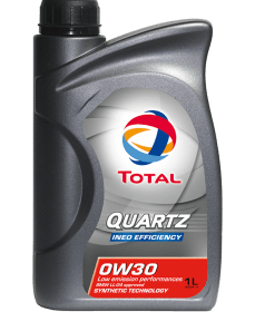 TOTAL   QUARTZ INEO EFFICEN 0W-30