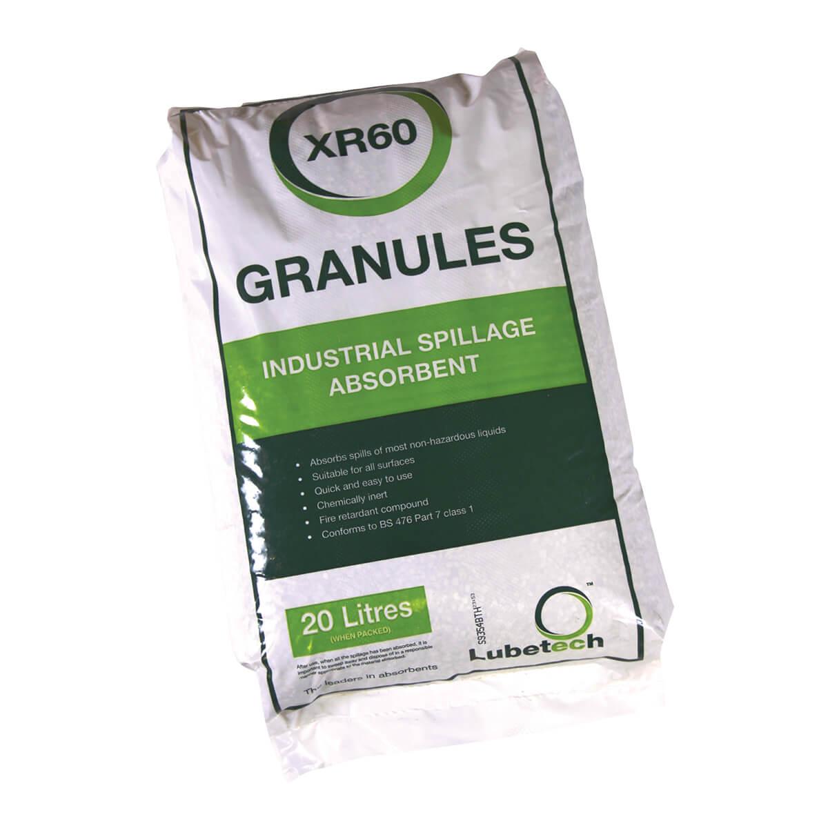 Oil Absorbent Granules - 20 Litres