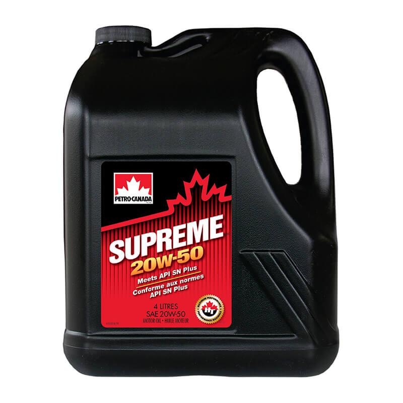 Petro-Canada SUPREME 20W50