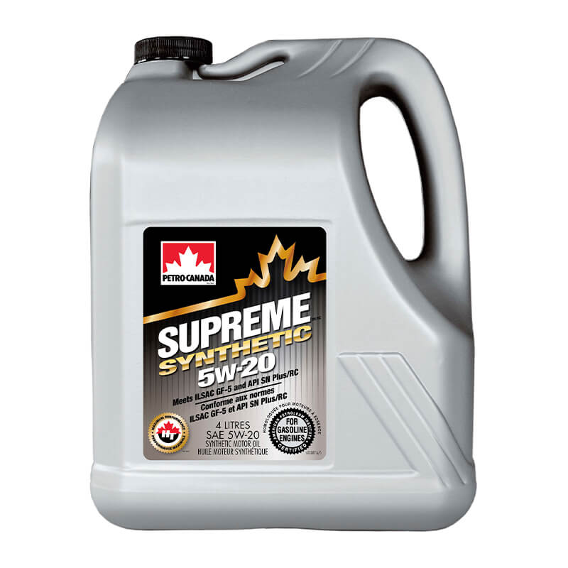Petro-Canada SUPREME Synthetic 5W-20