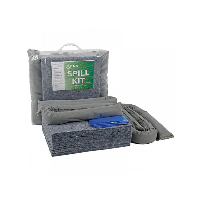 Spill Kit in Clip-Close Bag (40 Litre)