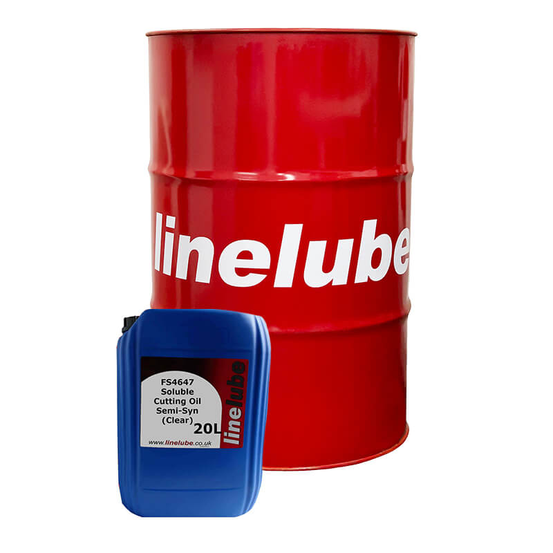 linelube FS4647 Soluble Cutting Oil Semi-Syn (Clear)