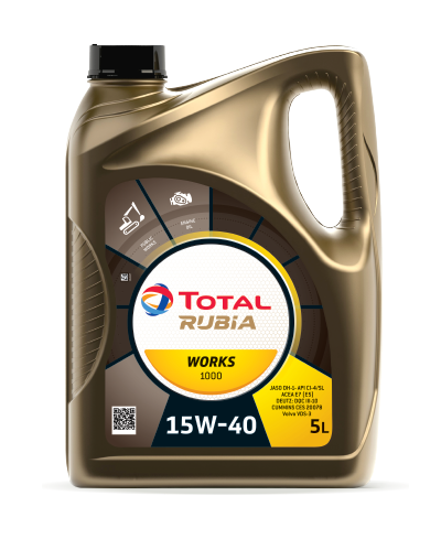 TOTAL RUBIA WORKS 1000 15W40